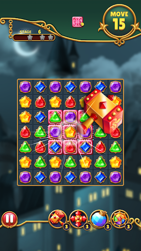 Jewels Mystery: Match 3 Puzzle apkslow screenshots 5