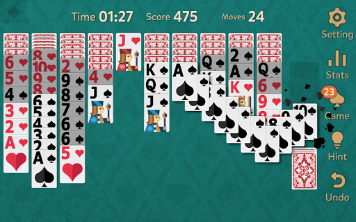 Spider Solitaire: Kingdom  screenshots 2