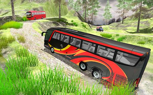 Bus Driving Simulator Public Coach offroad Game 1.0.2 screenshots 3
