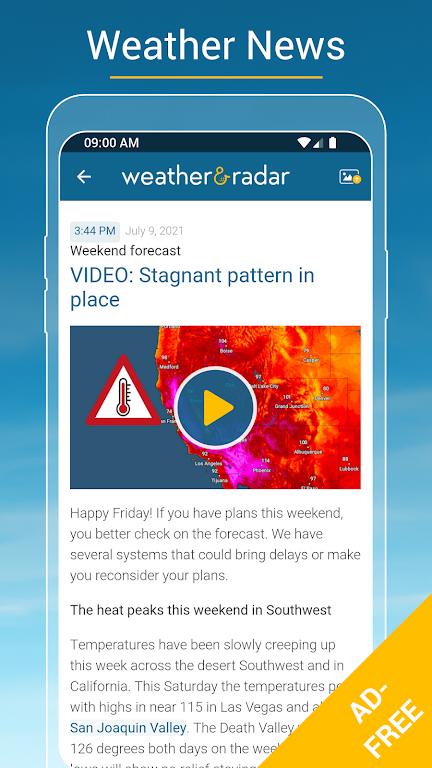 Weather & Radar USA - ad free poster 5