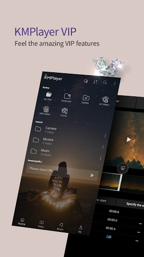 KMPlayer - All Video Player & Music Player android2mod screenshots 2