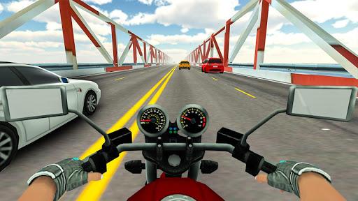 Highway Real Traffic Bike Racer screenshots 6