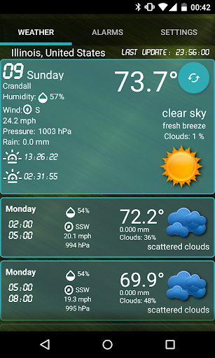 Custom Weather Alerts 5.1 Screenshots 7
