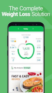 Calorie Counter - MyNetDiary, Food Diary Tracker Screenshot