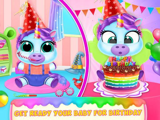 Baby Unicorn Pet Care  screenshots 4