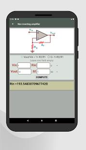 Electrocalc - electronics circuit calculator