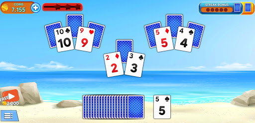 Solitaire Tripeaks - Endless Summer modavailable screenshots 24