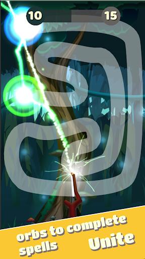 line wand magic - follow track drawing screenshot 1