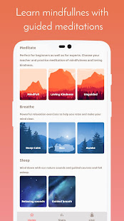 Meditation & Breathing Joy  calm relax sleep guide