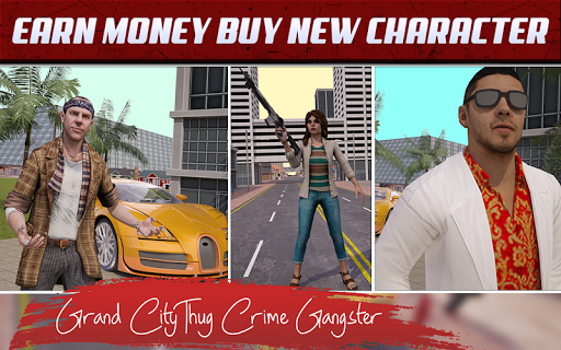 Grand City Thug Crime Gangster 2.22 Screenshots 4