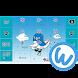 キーボードイメージ (うなりくん ver.) - Androidアプリ