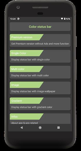 Color status bar - Customized Color & Wallpaper 47 screenshots 8