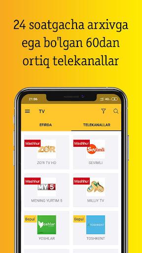 Beeline TV Uzbekistan  Screenshots 1