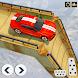 ランプカースタントレーシングゲーム:新車ゲーム-シミュレーションゲーム(無料ゲームと新ゲーム)