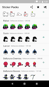 UNDERTALE and DELTARUNE stickers For Pc (Download On Windows 7/8/10/ And Mac) 2