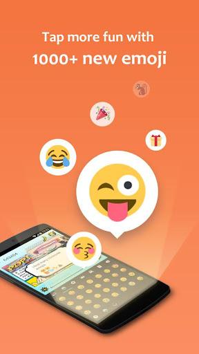 GO Keyboard Lite - Emoji keyboard, Free Theme, GIF 3.23 Screenshots 4