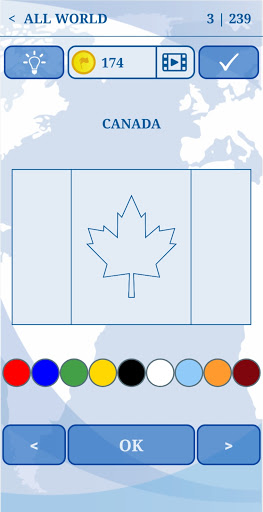 The Flags of the World u2013 World Flags Quiz 5.6 screenshots 3