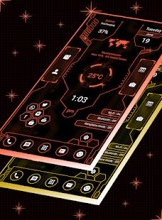 Hitech Launcher 2 Pro - 2020 - hitech theme