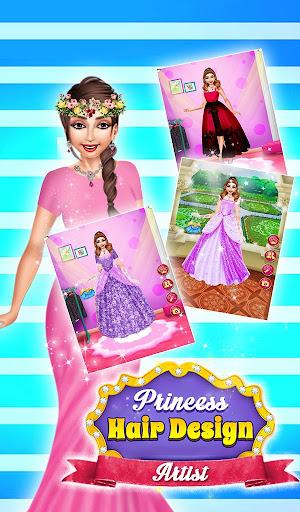 princess hair saloon design screenshot 1