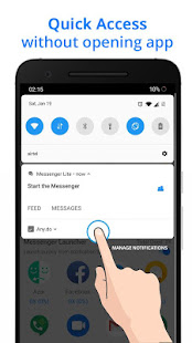 Messenger Go for Social Media, Messages, Feed 3.23.2 Screenshots 8