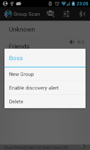 Bluetooth Scanner - Group Scan