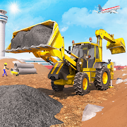 Airport City Construction Game