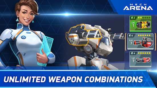Mod Game Mech Arena: Robot Showdown for Android