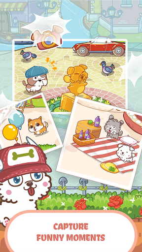 Fancy Dogs - Cute dogs dress up and match 3 puzzle  screenshots 4