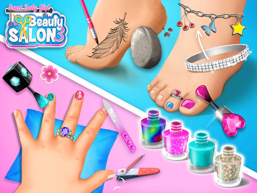Sweet Baby Girl Beauty Salon 3 - Hair, Nails & Spa  screenshots 15