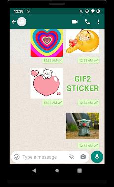 GIF2Sticker - Animated Sticker Maker for WhatsAppのおすすめ画像3