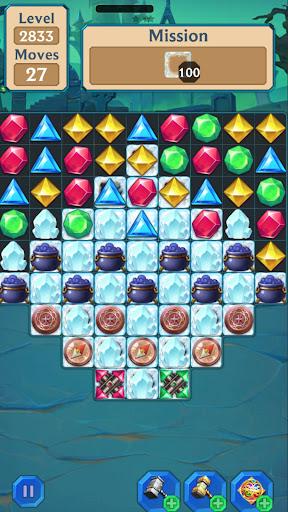 Magic Jewel Quest - Mystery Match 3 Puzzle Game 1.1.20 screenshots 2