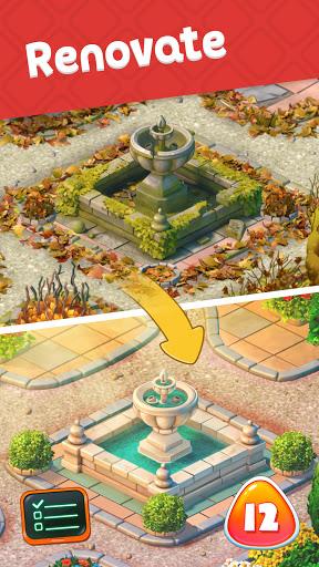 ud83cudf81 New Gardenud83cudf84ud83cudf84 Match 3 Games ud83cudf89 Three in a row apkpoly screenshots 5