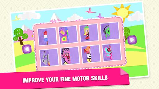 Mirror Mosaic : Symmetry Puzzles  screenshots 4