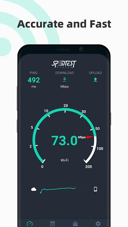 Internet speed test Meter- SpeedTest Master  poster 0