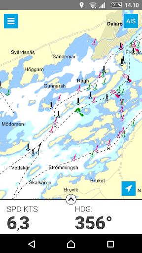 Eniro På sjön - Gratis sjökort  screenshots 3