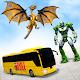Flying Dragon Robot Car Transform Bus Robot Games para PC Windows