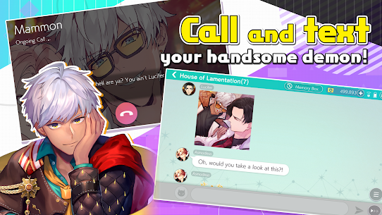 Obey Me! – Anime Otome Dating Sim / Dating Ikemen 6