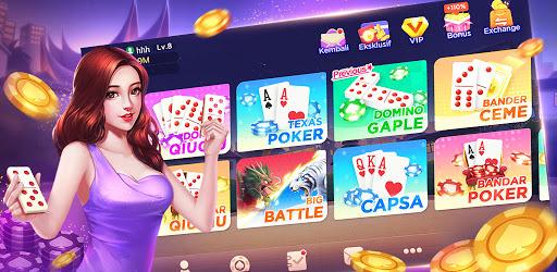 Gaple Domino Qiuqiu Poker Capsa Ceme Game Online Aplikasi Di Google Play
