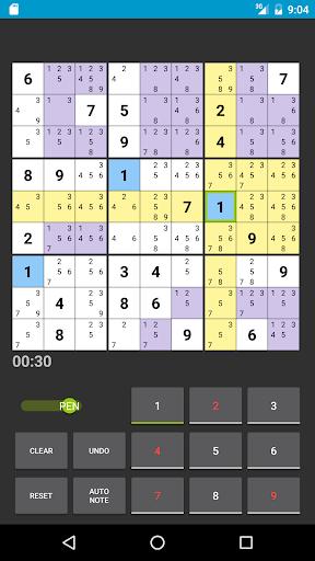Sudoku 1.1.19b screenshots 3