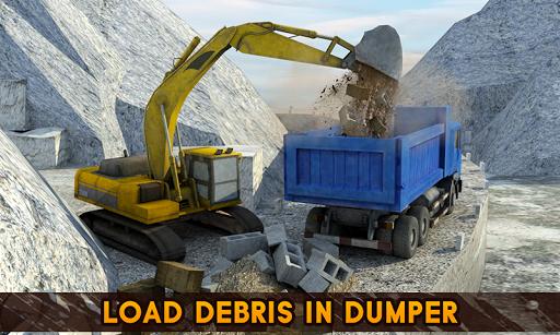 Hill Excavator Mining Truck Construction Simulator screenshots 1
