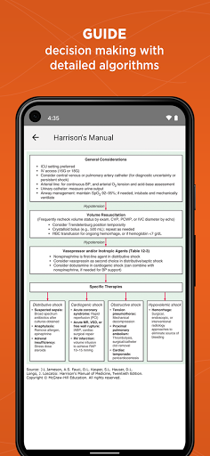 Harrison's Manual of Medicine 2.7.95 Screenshots 4