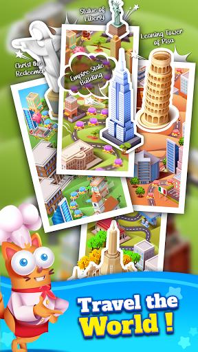 Kitten Games - Bubble Shooter Cooking Game apkmr screenshots 5