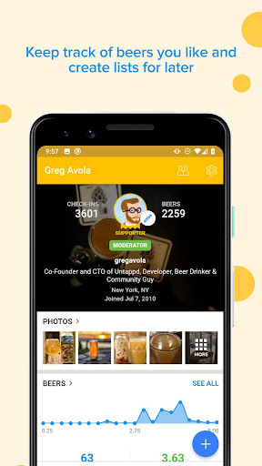 Untappd - Discover Beer  Paidproapk.com 5