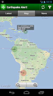 Earthquake Alert! 3.0.4 Screenshots 8