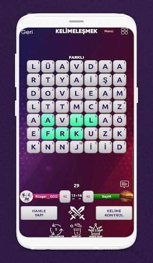 Kelimeleu015fmek - Online Kelime Oyunu  screenshots 3