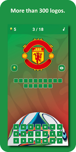 Soccer Logo Quiz 3 1.0.9 screenshots 1