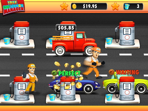 idle gas station manager: fuel factory tycoon screenshot 1