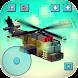 ガンシップクラフト:生存、飛行&射撃戦争ゲーム