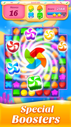 Cookie Amazing Crush 2020 - Free Match Blast 8.8.3 screenshots 3