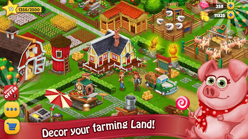Farm Day Village Farming: Offline Games 1.2.39 screenshots 6